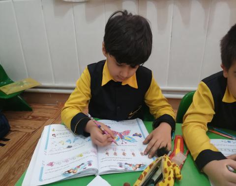 آموزش ریاضی پیش دبستانی