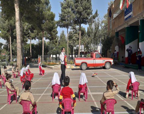برگزاری مراسم روز آتشنشانی و ایمنی -مهرماه1399