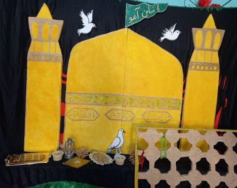 گل پسران در شهادت امام رضا (ع) مهرماه 1401-1400