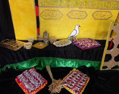 گل دختران در شهادت امام رضا (ع) مهرماه 1401-1400